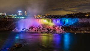 Niagara Falls Festival of Lights charter bus
