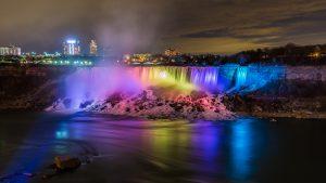 Niagara Falls Festival of Lights charter bus